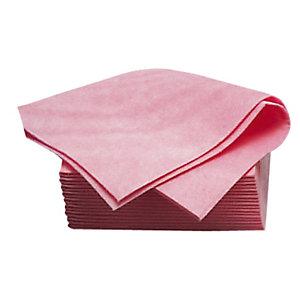 20 roze non-woven vaatdoeken Futura