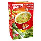 20 sachets Soupe Royco Suprême de légumes Crunchy