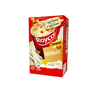 20 zakjes Royco soep Asperges Crunchy