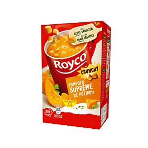 20 zakjes Royco soep Pompoen suprême Crunchy