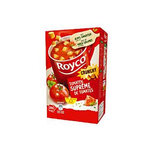 20 zakjes Royco soep Tomaten supreme Crunchy
