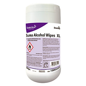 200 lingettes désinfectantes Suma XL