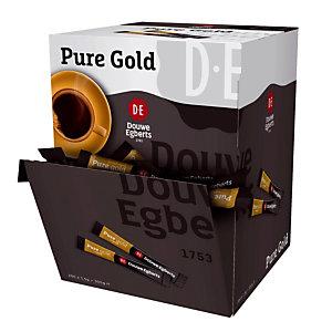 200 sticks oploskoffie Douwe Egberts Pure Gold