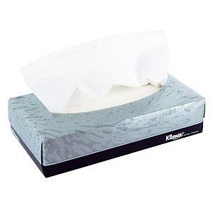 21 doosjes van 100 zakdoeken Kleenex