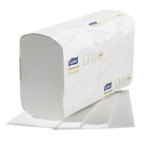 2100 essuie-mains pliés enchevêtrés Tork Xpress Premium extra doux