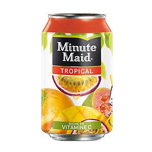 24 blikjes Minute Maid tropical 33 cl.