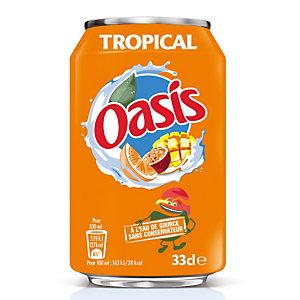 24 blikjes Oasis tropical 33 cl.