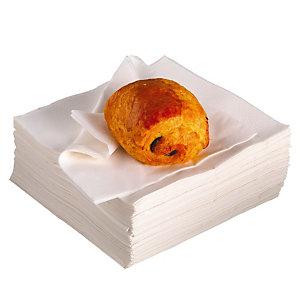 2400 witte servetten, 2 lagen 33 x 33 cm