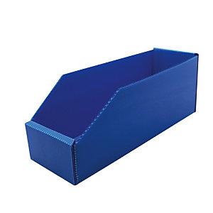 25 Bacs pliables polypro 2L Bleu
