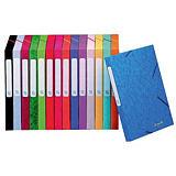 25 chemises à élastiques Cartobox 5/10e dos 2,5 cm coloris assortis