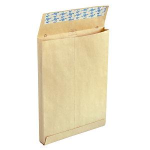 250 pochettes 120 g kraft à soufflets  sans fenêtre 229 x 324mm La Couronne, le lot