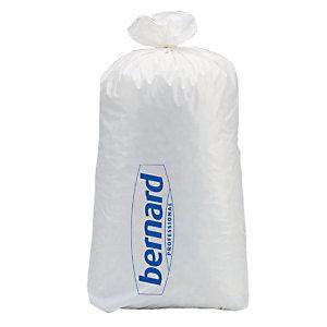 250 vuilniszakken Bernard 110 L, witte kleur