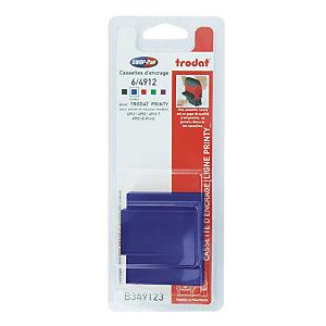 3 blauwe inktnavullingen Trodat Xprint 4912 commerciële formule, blisterverpakking