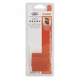 3 navullingen rode inkt voor stempels TRODAT® 4911, 4820