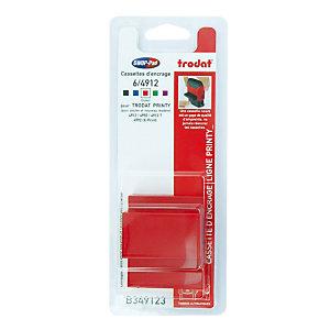 3 rode inktnavullingen Trodat Xprint 4912 commerciële formule, blisterverpakking