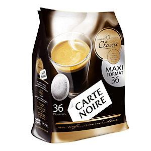 36 dosettes de café Carte Noire Classic