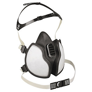 3M Demi-masque respiratoire jetable 4000 protection FFA2P3D