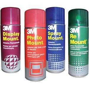 3M™ DisplayMount™ Adesivo permanente Colla in barattolo con spray nebulizzante 400 ml