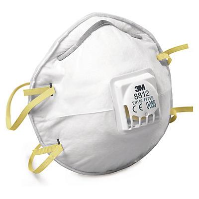 3M fast engangsstøvmaske med ventil