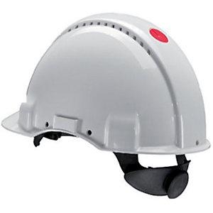 3M™ G3000 Elmetto di protezione, Bardatura Standard, Bianco