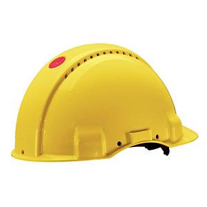 3M™ G3000 Elmetto di protezione, Bardatura Standard, Giallo