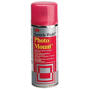 3M™ Photo Mount Pegamento en spray - Permanente