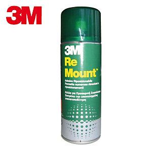 3M™ ReMount™ Adesivo non permanente Colla in flacone con spray nebulizzante 400 ml