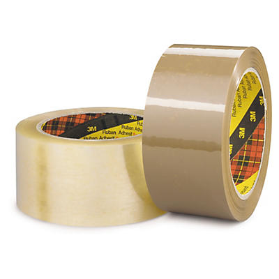 Ruban adhésif polypropylène qualité industrielle Scotch™ 3M##3M tape PP Scotch, industriële kwaliteit