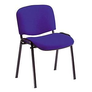 4 blauwe stoelen Comfort