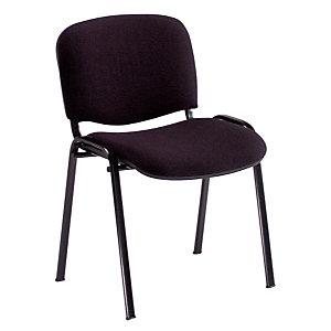 4 Chaises Confort noires