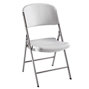 4 chaises pliantes en polyéthylène