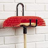 4 crochets Pourtout métallique Prof. 20 cm
