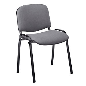 4 grijze stoelen Comfort