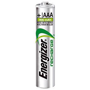 4 oplaadbare batterijen Energizer Extrême AAA