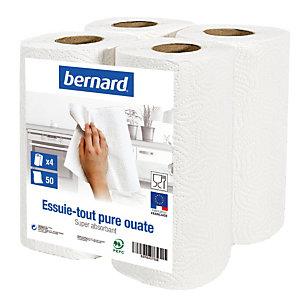 4 rollen poetsdoek Bernard