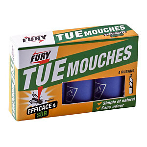 4 rubans tue mouches Fury
