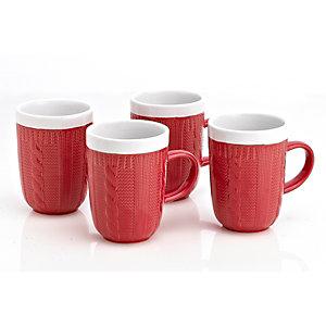 4 Tazas de cerámica de diseño