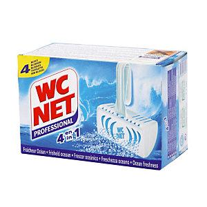4 WC-blokjes Net 4 in 1 parfum oceaan