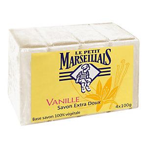 4 zepen Le Petit Marseillais vanille van 100 g