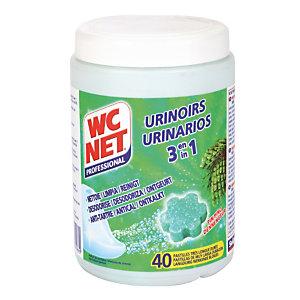 40 pastilles urinoirs WC Net 3 en 1