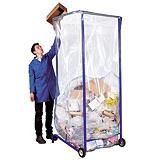 40 sacs transparents grand volume 1500 L##40 transparante zakken met grote inhoud 1500 L