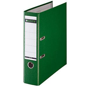 5 classeurs à levier Leitz 180° standard polypropylène coloris vert