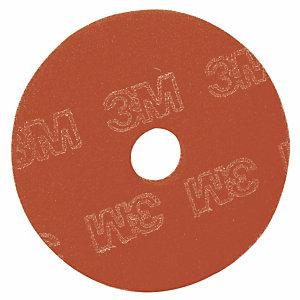 5 disques de nettoyage 3M rouges diam.432 mm