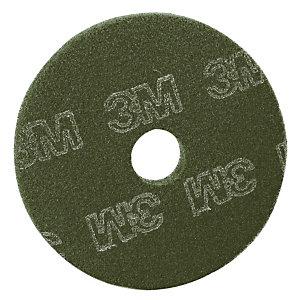 5 disques de nettoyage 3M verts diam.406 mm