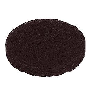 5 disques noirs diam. 165 mm