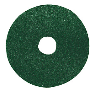 5 groene reinigingsschijven Bernard diam. 406 mm