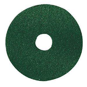 5 groene reinigingsschijven Bernard diam. 432 mm