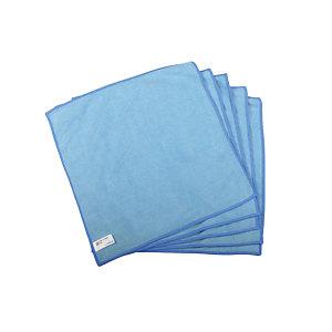 5 lavettes microfibres Taski MyMicro 36 x 36 cm bleu