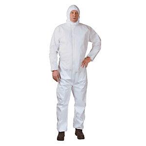 5 overalls voor bescherming tegen deeltjes /spatten Oxygen types 6-5 Maat XL