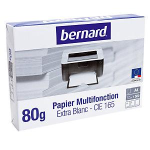 5 ramettes papier Bernard multifonction A4 80g